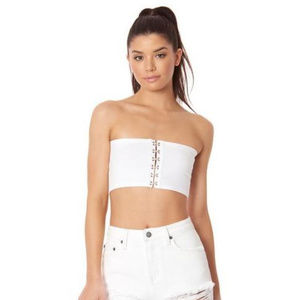 LF Hook & Eye Bralette / Tube Top *NWT*